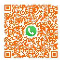 Usa il codice QR per contattarci tramite Whatsapp