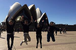 Visitare Sydney esplorando la citta e una parte importante del programma propedeutico del partner