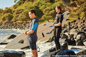 Lo sport e in particolare il surf si può praticare facilmente dopo scuola
