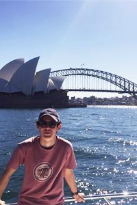 Studenti TecAustralia durante una visita alla città di Sydney dopo scuola