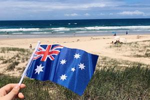 La cultura e la vita in Australia momenti di svago e contatto con la natura in isolamento