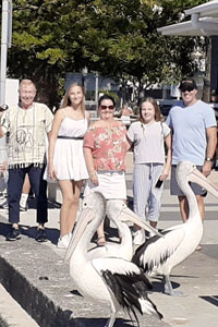 I nostri studenti in Australia praticano l'inglese immerse completamente nella vita culturale del paese