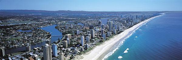 La Gold Coast situata nello stato del Queensland in Australia offre molte opportunità