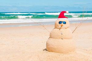 Il Natale australiano si festeggia in spiaggia con il tradizionale barbi insieme alla famiglia e agli amici