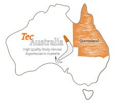 Il Queensland si trova in alto a destra dell Australia